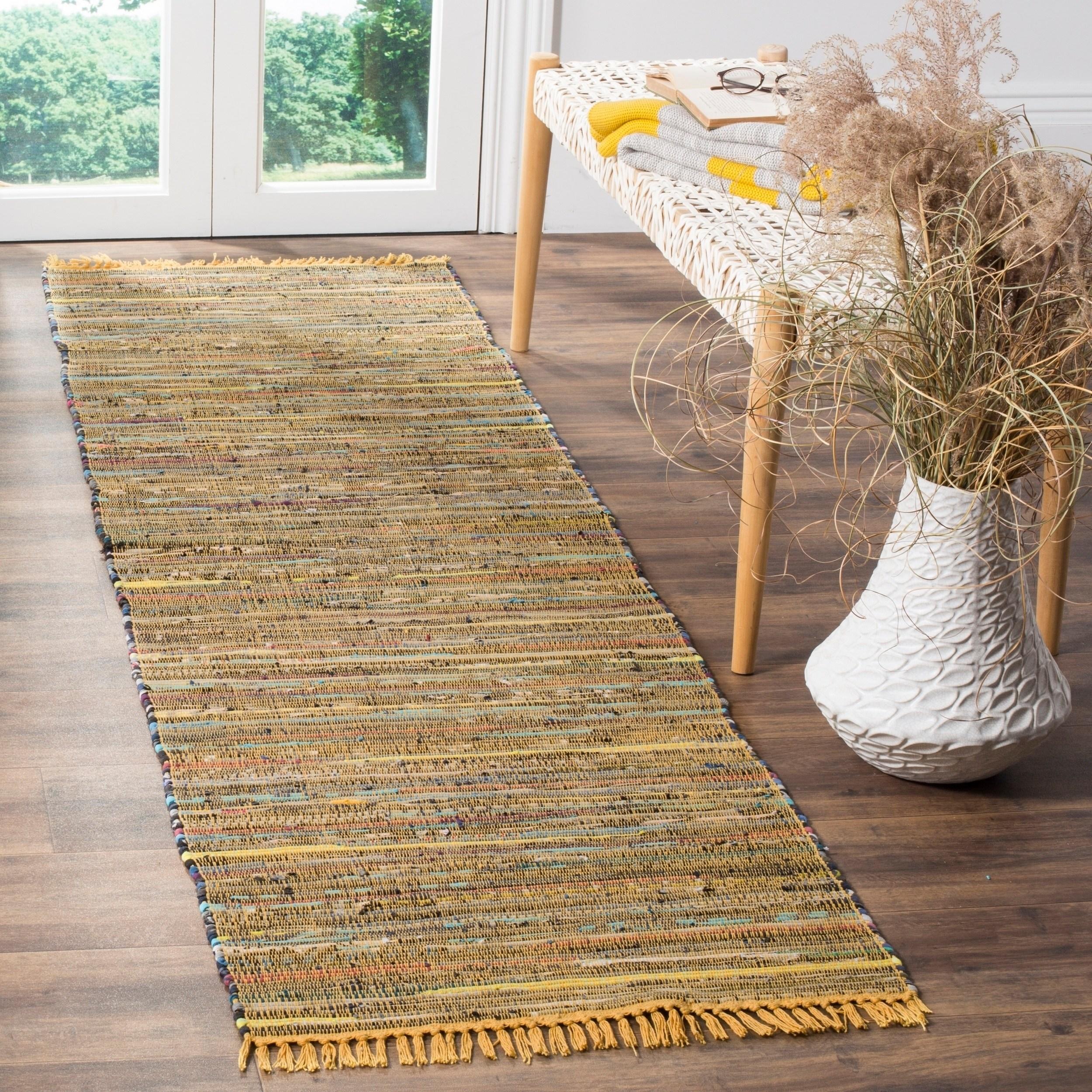 Safavieh Rag Rug Transitional Stripe