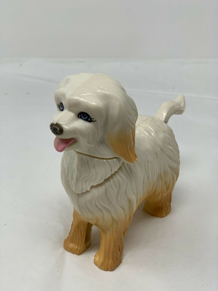 11childrens Toy Plastic Dog Puppy Moving Head Tail Moveable Action
