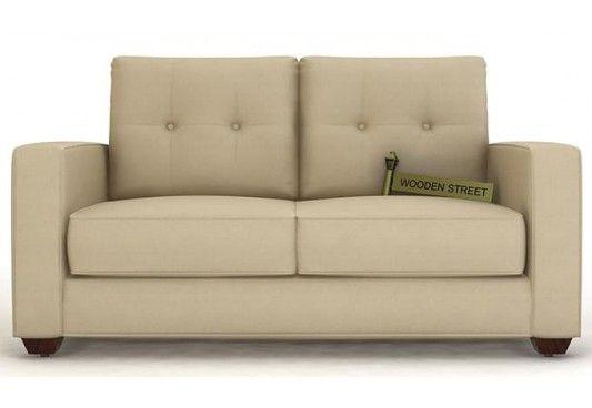 Richie 2 Seater Sofa In Irish Cream Displays Alluring Design With Amazing Elegance Buy Two Seater Sofa Online India 2 Seater Sofa Seater Sofa Sofa Set Online