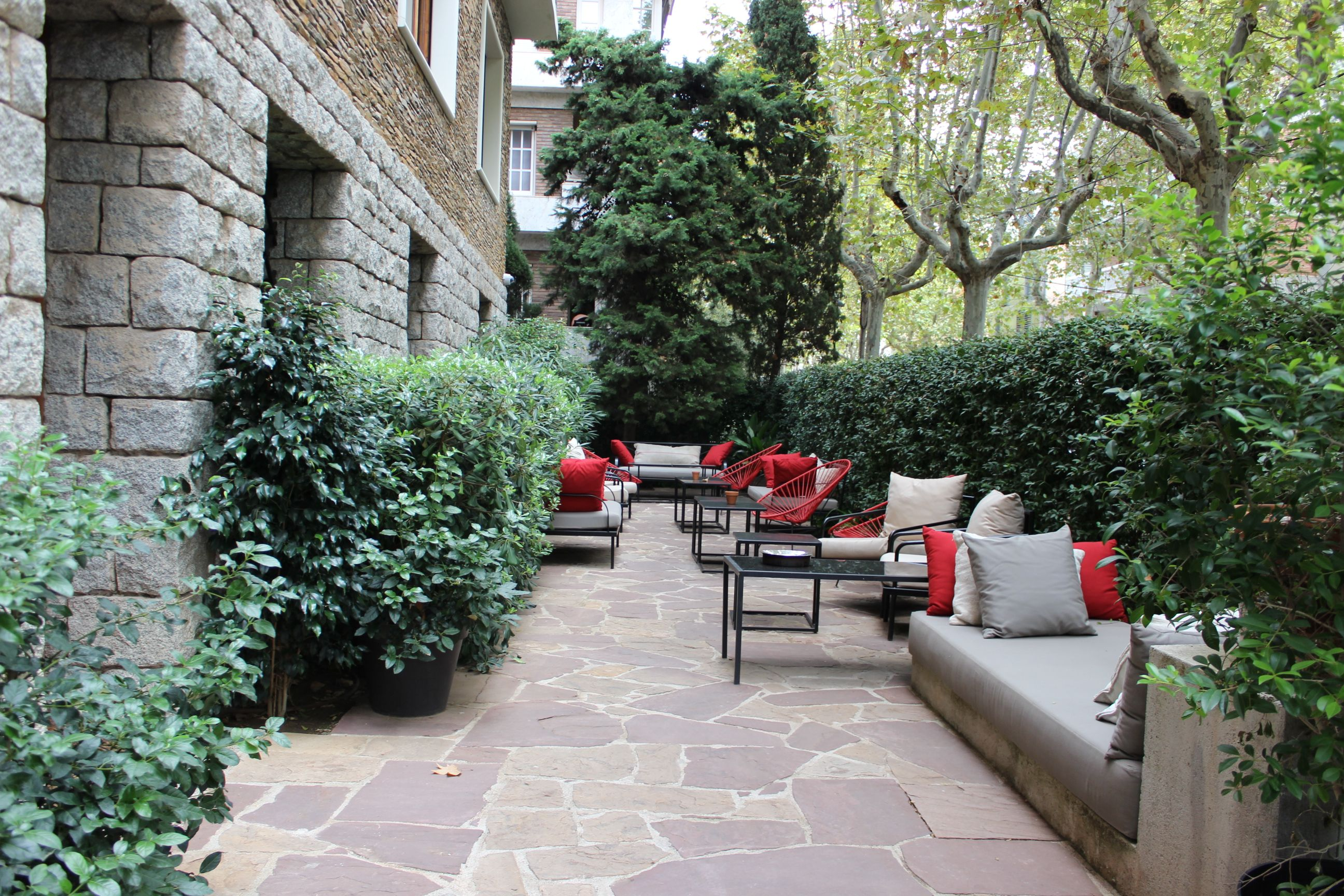 las instalaciones del clásico tradicional y acogedor hotel
