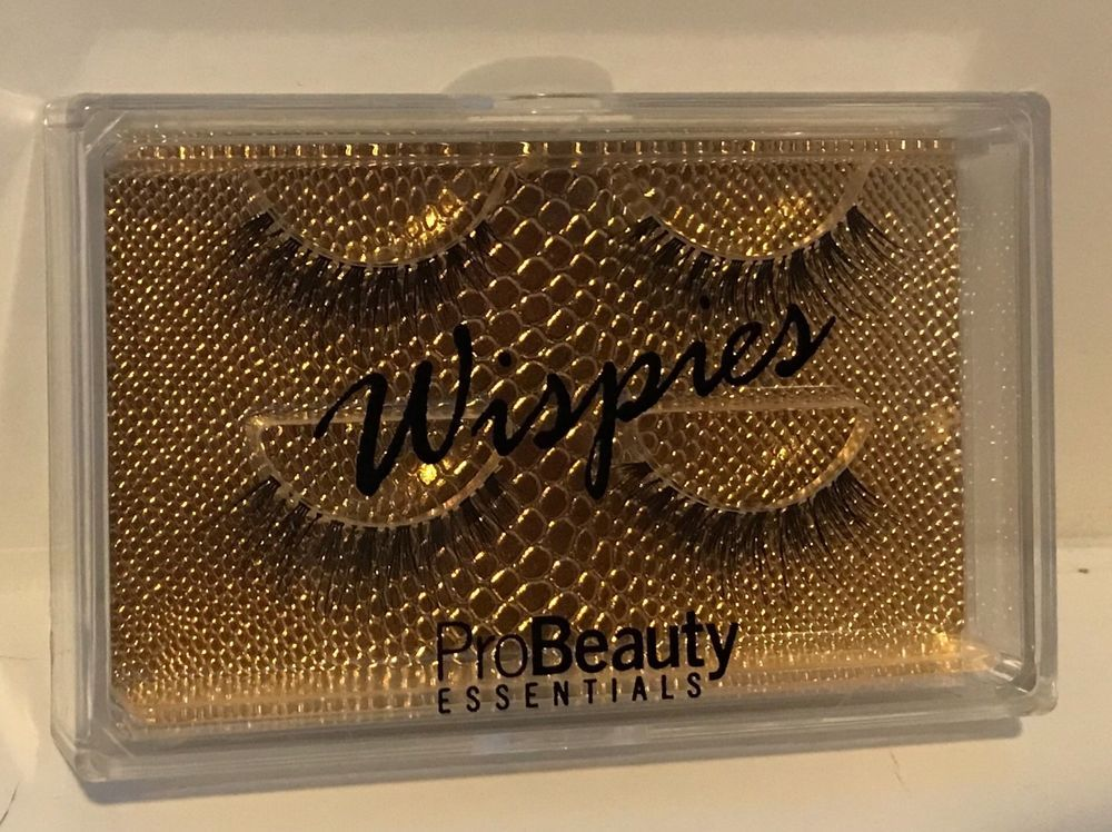 8a9952d359f 2-PAIRS-OF-WISPIES-FALSE-EYELASHES PRO BEAUTY ESSENTIALS | eBay | Be ...