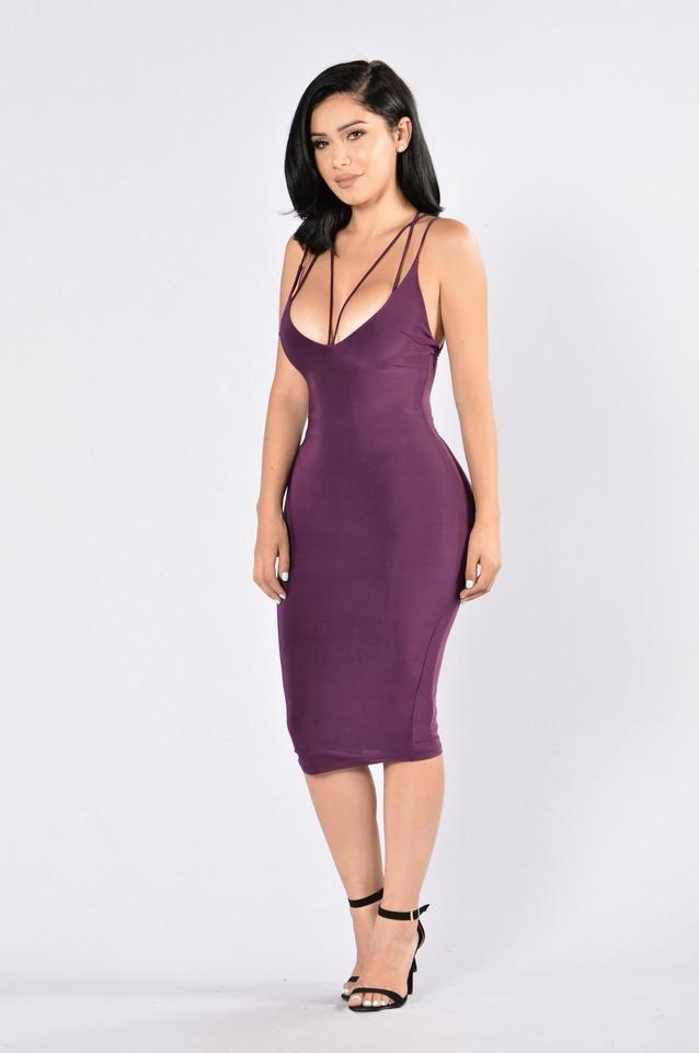 Pros and Cons Dress - Purple | Chicas góticas, Vestidos ajustados y ...