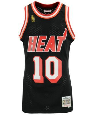 the latest cfb67 3367c Mitchell & Ness Men Tim Hardaway Miami Heat Hardwood Classic ...