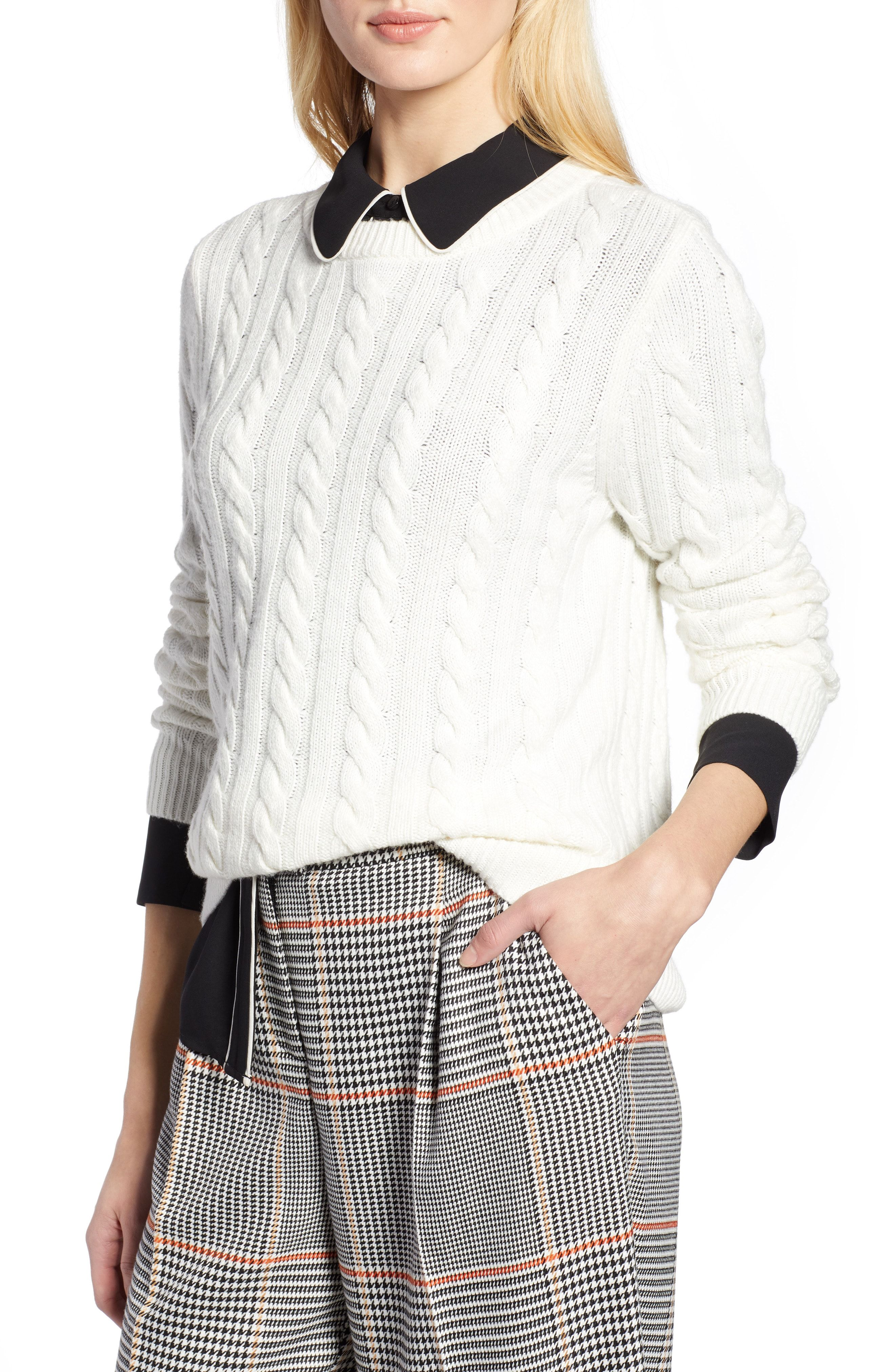b5162edb605 Halogen® x Atlantic-Pacific Cable Sweater available at #Nordstrom ...