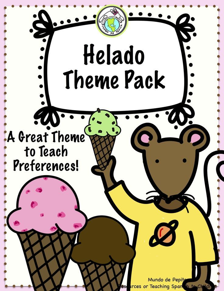 Helado Ice Cream Preferences THEME PACK