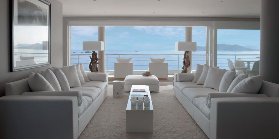 Penthouse Ibiza Interior Design by Eric Kuster For The House - grau braun einrichten penthouse