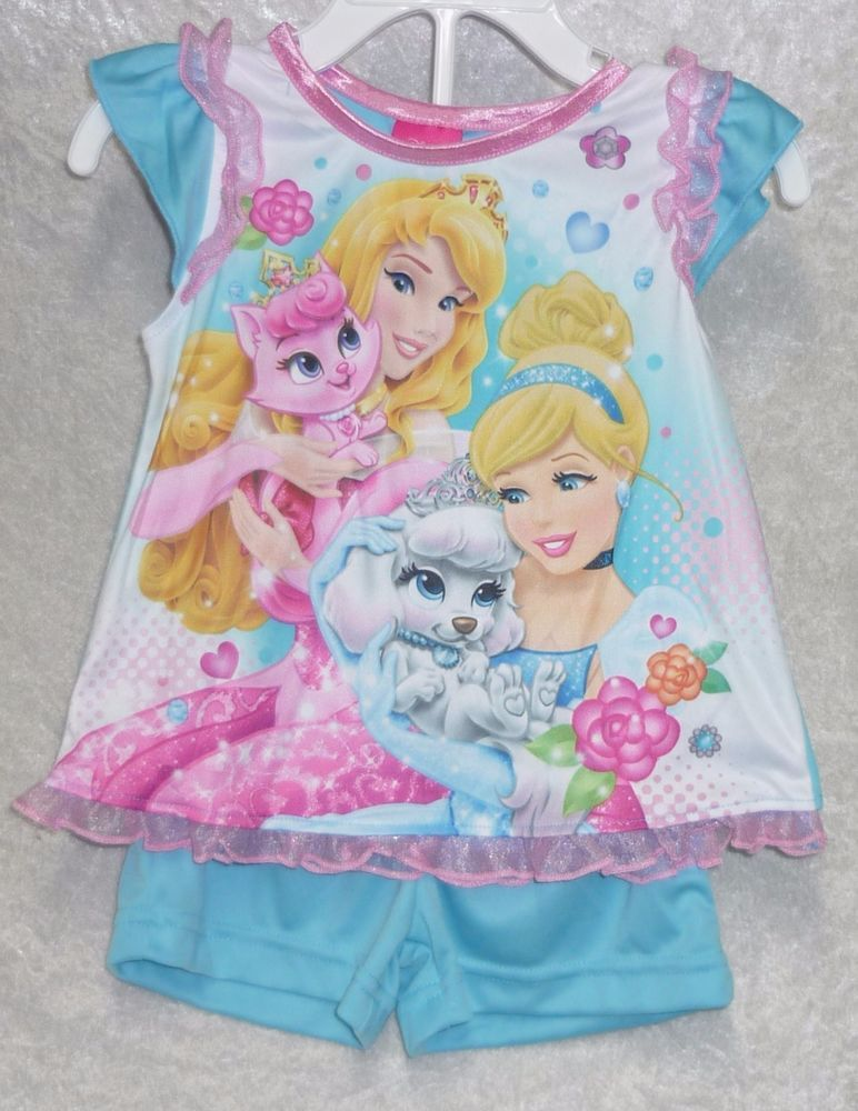 Disney girls Pajama Set Princess Palace Pets 2 pieces Pets Toddler size 2T NEW  16.99 free US shipping http://www.ebay.com/itm/-/262008207003?