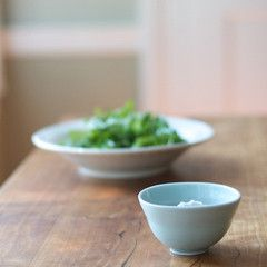 Celadon Salt Bowl