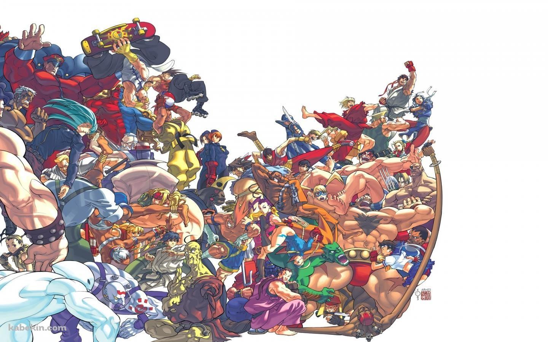 ストリートファイター 各種キャラクター 1440 X 900 の壁紙 壁紙