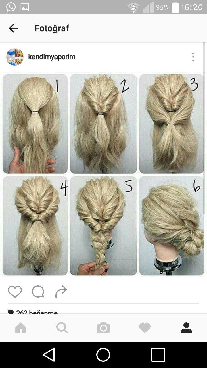 simple easy casual updos for long hair