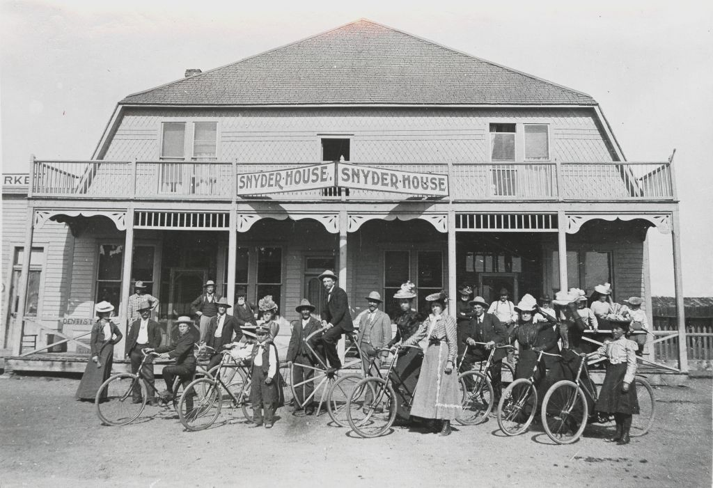 The Snyder House Hotel Walden Colorado About 1910