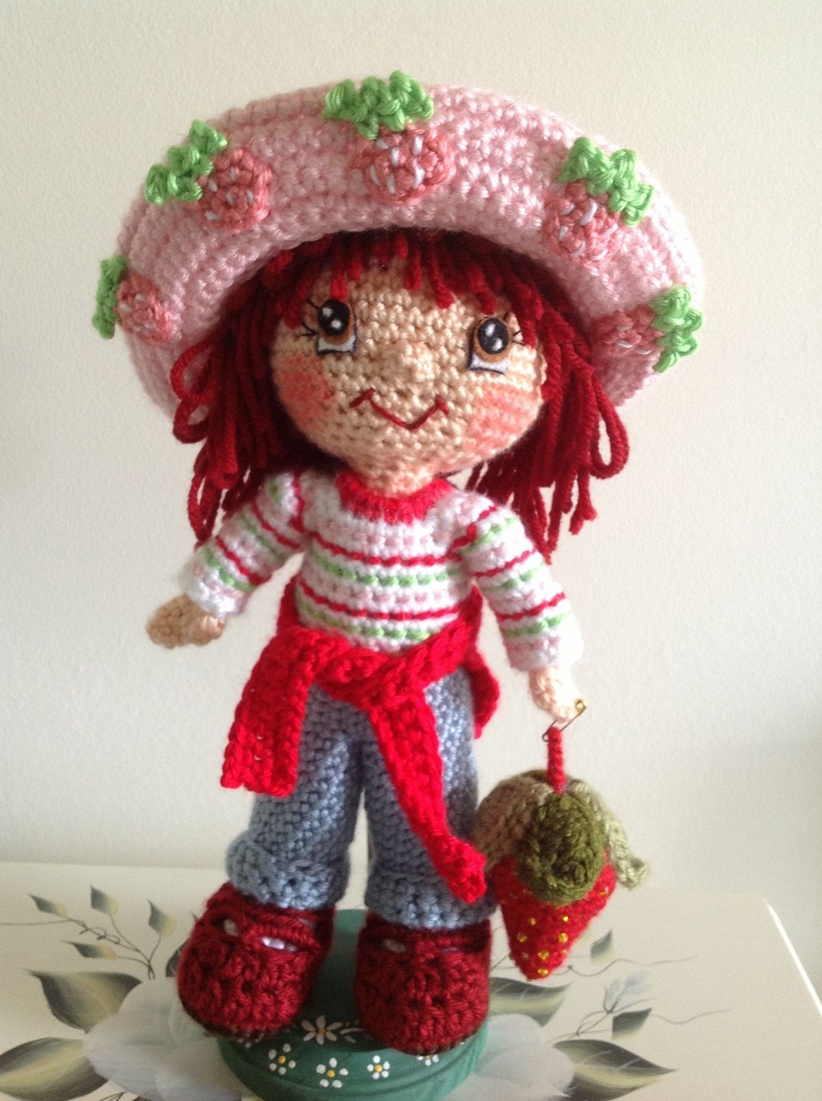 Ravelry: Dutsie\'s Strawberry Shortcake | Crocheted Toys & Amigurumi ...