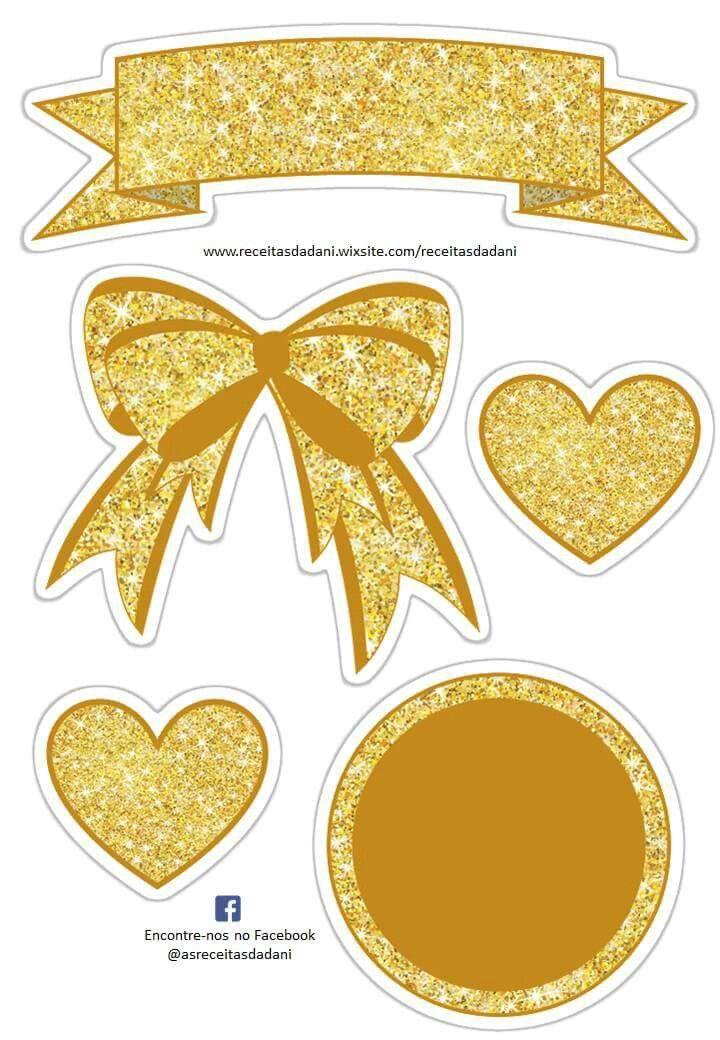 Parabéns Malu E Tallita Martin Bingo Dog Gold Cake Cake