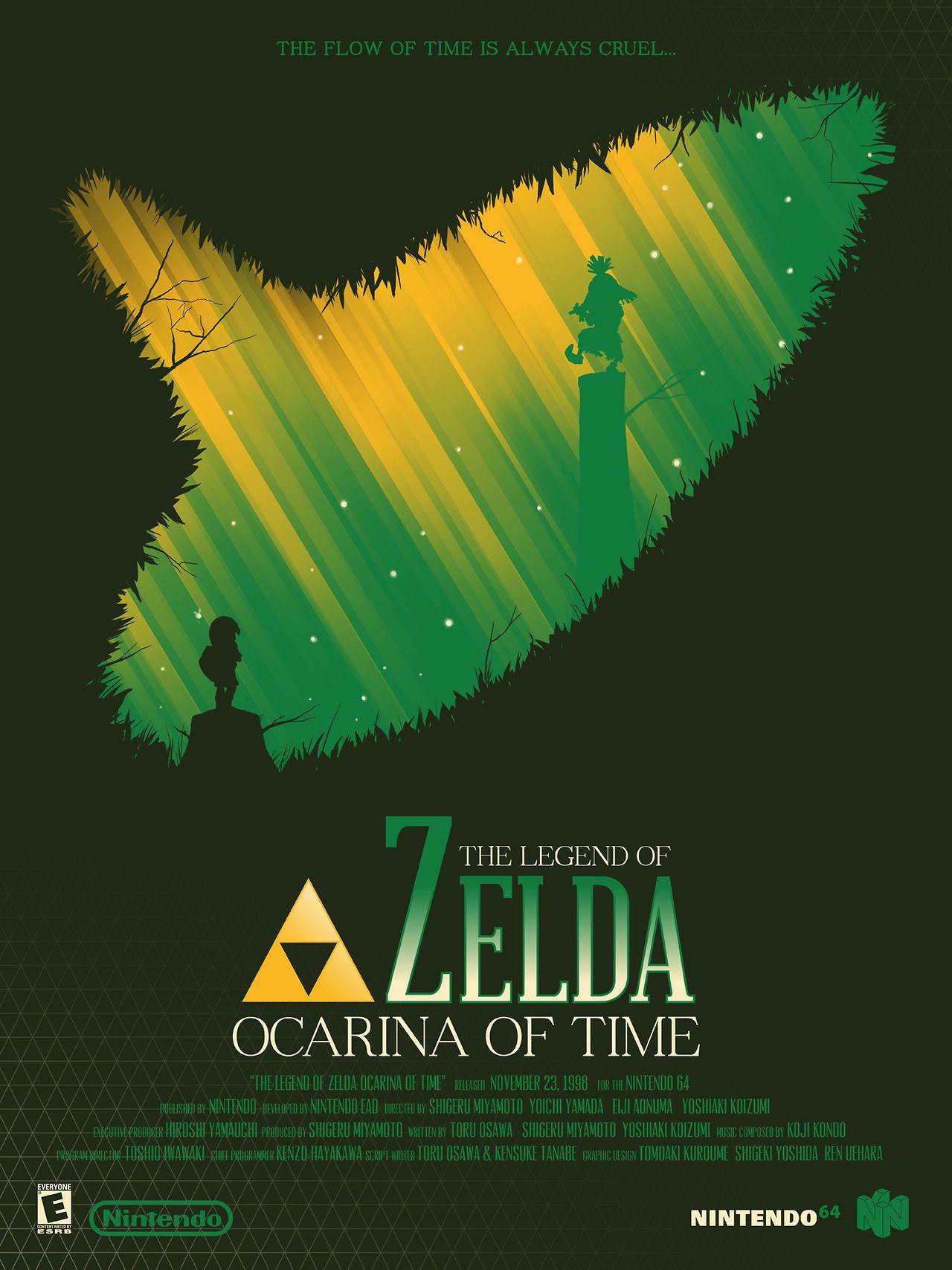 legend of zelda poster