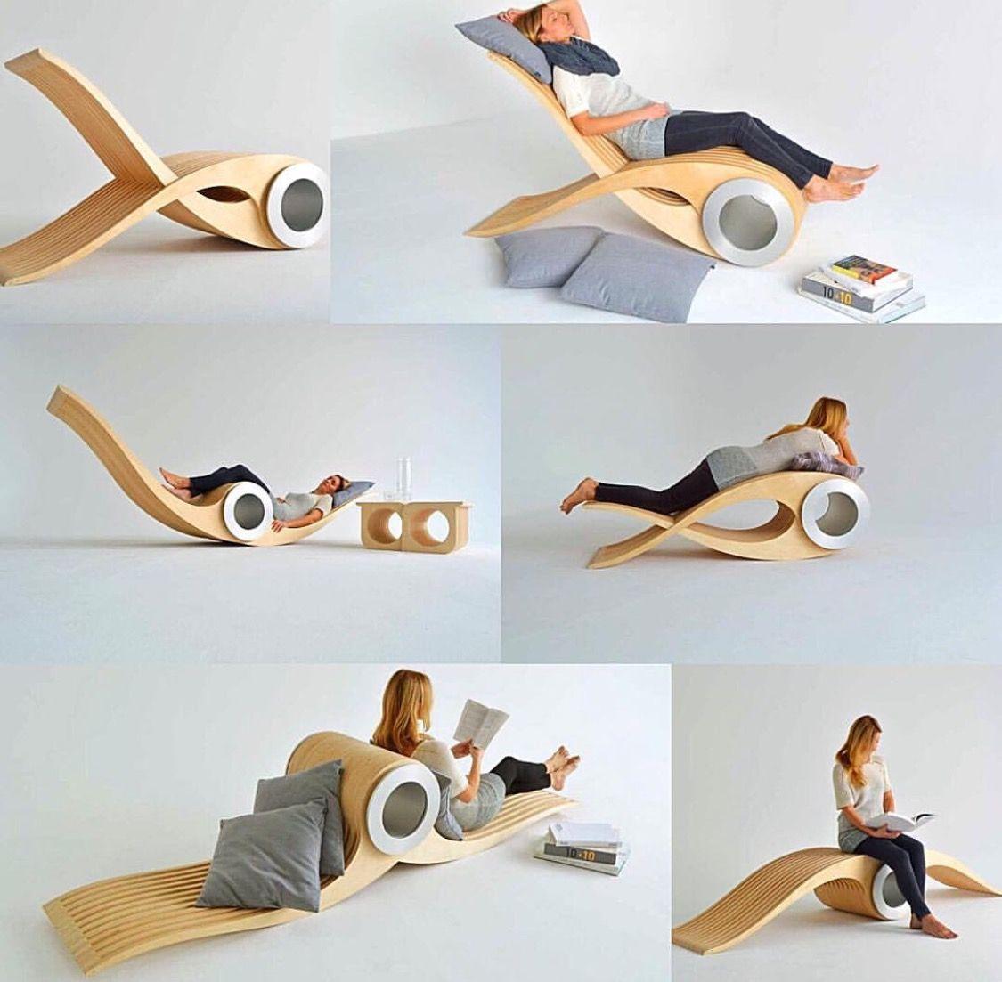 Fesselnd Exocet Chair By Designer Stephane Leathead