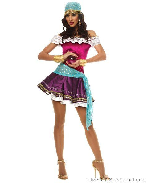 Halloween Ideas 2019 Women.Sexy Fortune Teller Womens Costume 35 96 Costumes In 2019