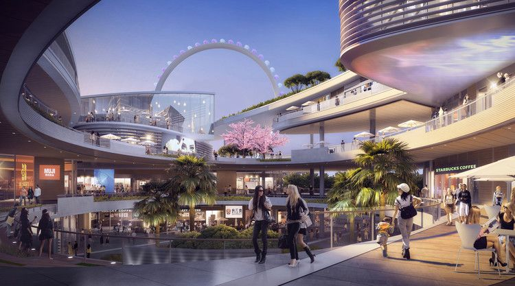China's Shenzhen Waterfront to be Transformed by Laguarda.Low Masterplan | ArchDaily