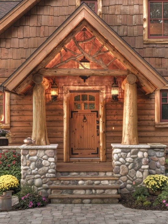 Log Cabin Design   Rustic Chic   Pinterest   Log cabin designs ...