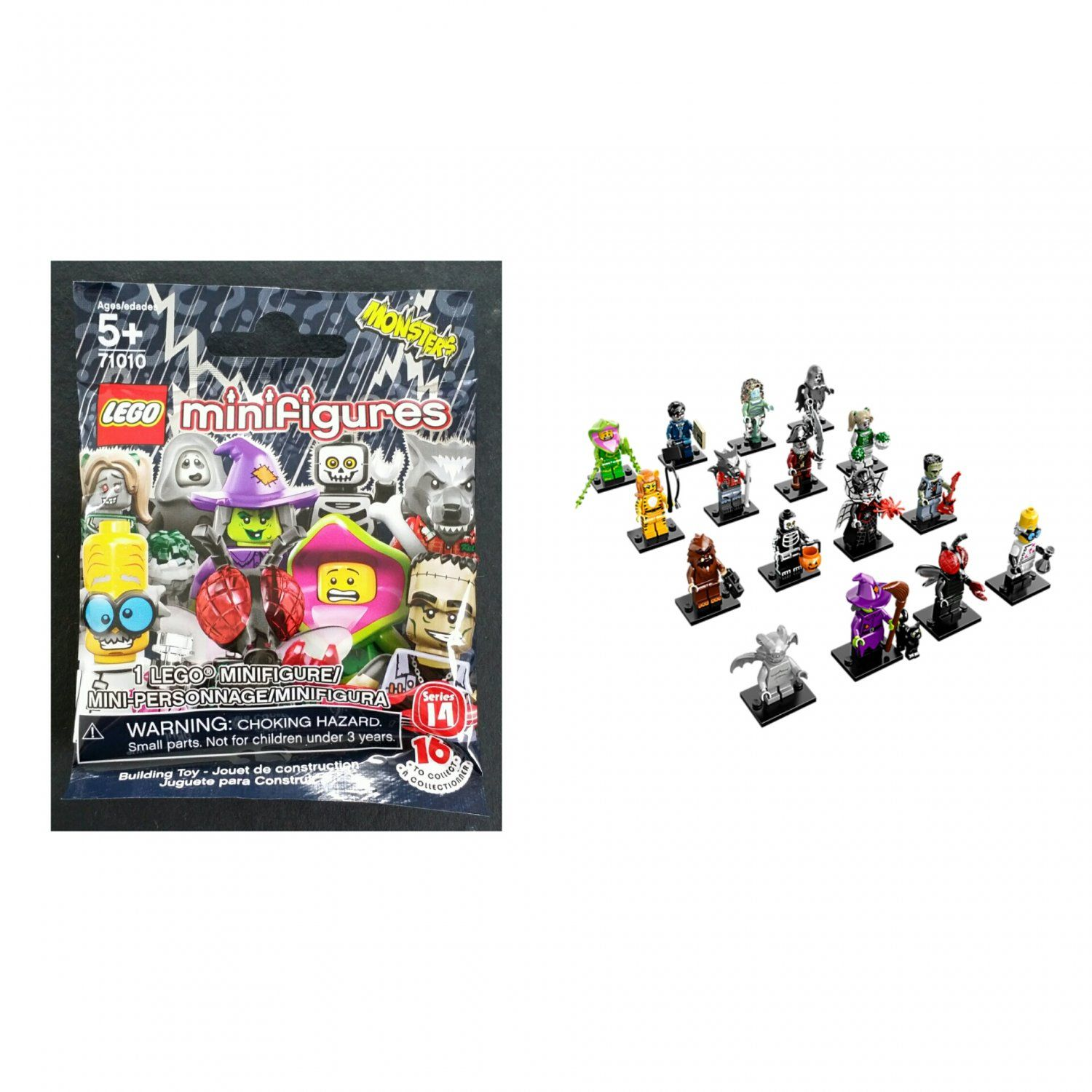blind minifigures packs retired bag lego series monsters mystery blinds pin
