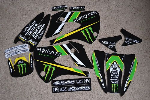 Team Monster Energy Kawasaki Graphics KX85 KX100 | eBay | Bikes