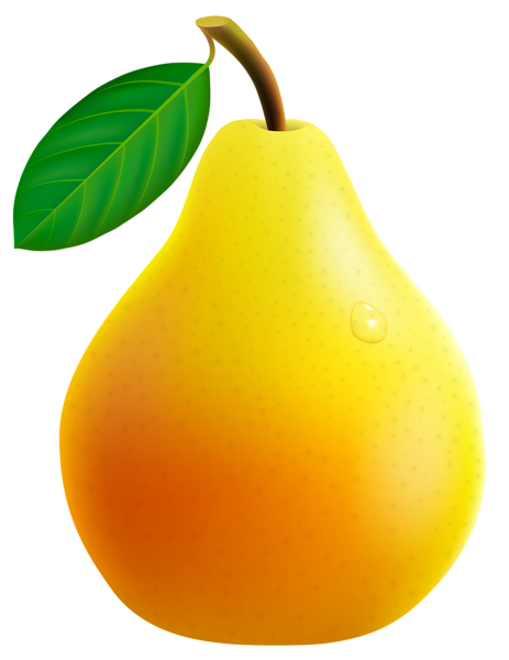 Yellow Pear Png Vector Clipart Image Fruit Art Fruits And Vegetables Pictures Vegetable Pictures