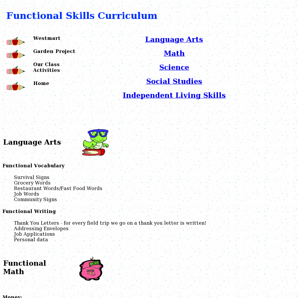 Functional Skills Curriculum