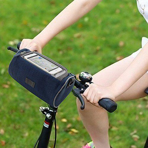 Bike Handlebar Bags Pard 2016 New Fashion Small Bicycle Handlebar Bag Multifunctional Oxford Cloth Waterproof Buc Handlebar Bag Bicycle Handlebars Riding Bag