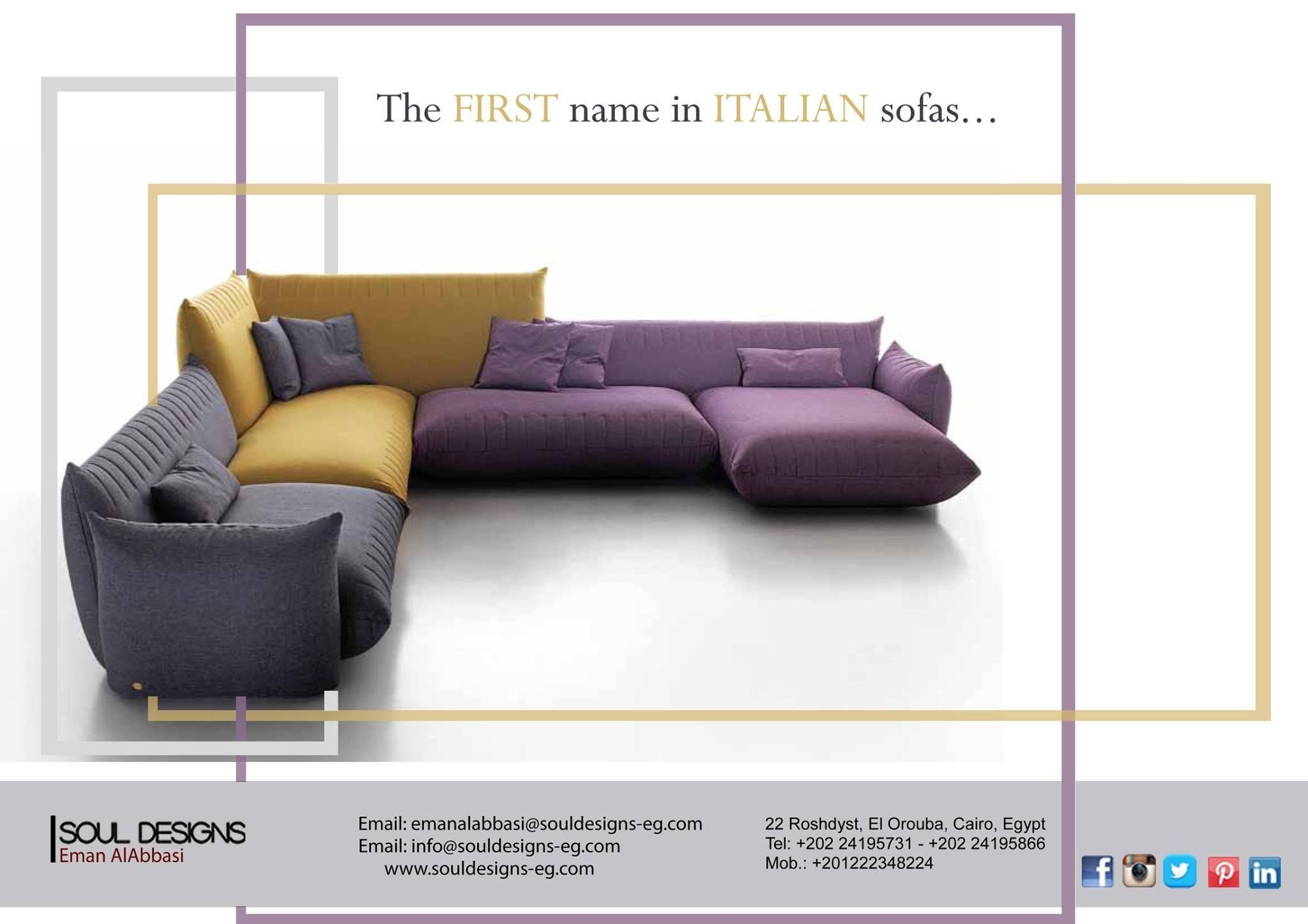 The First Name Is Italian Sofas - Italian Furniture Brought