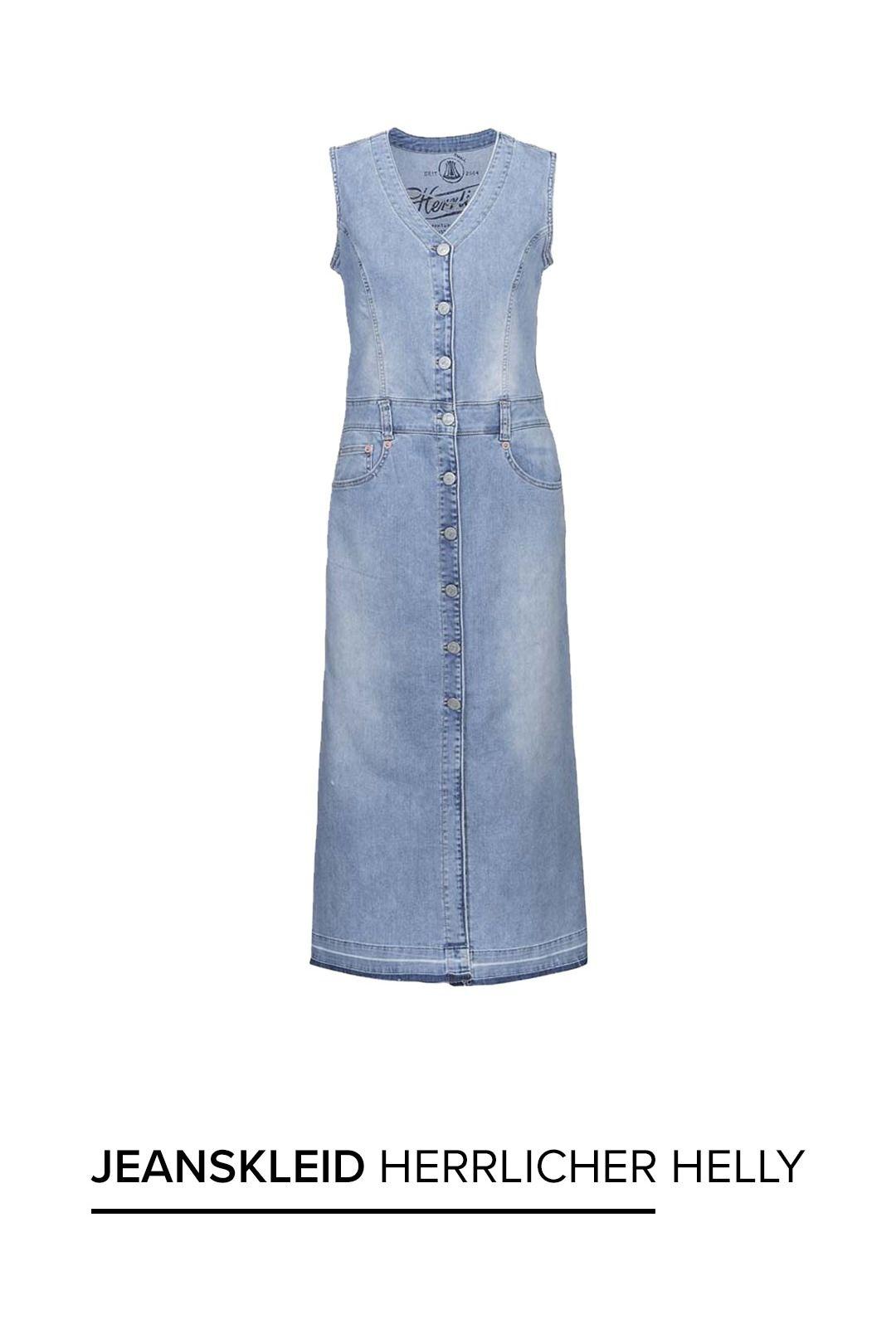 Herrlicher Helly Maxi #Jeanskleid #mode #kleid #denim