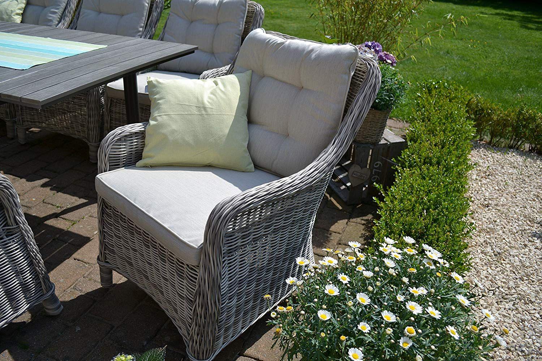 Amazon De Bomey Rattan Lounge Set I Gartenmobel Set Como 6 Teilig