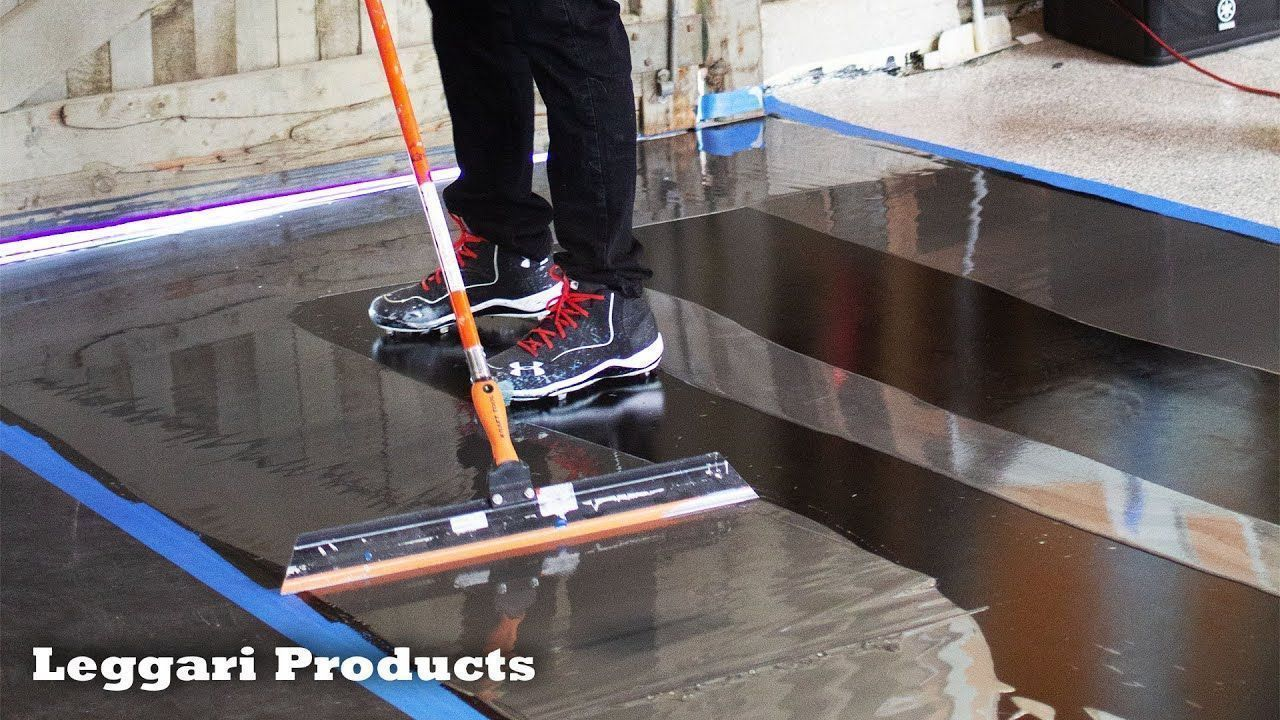 Designer Epoxy Floor Installation That You Can Do Yourself