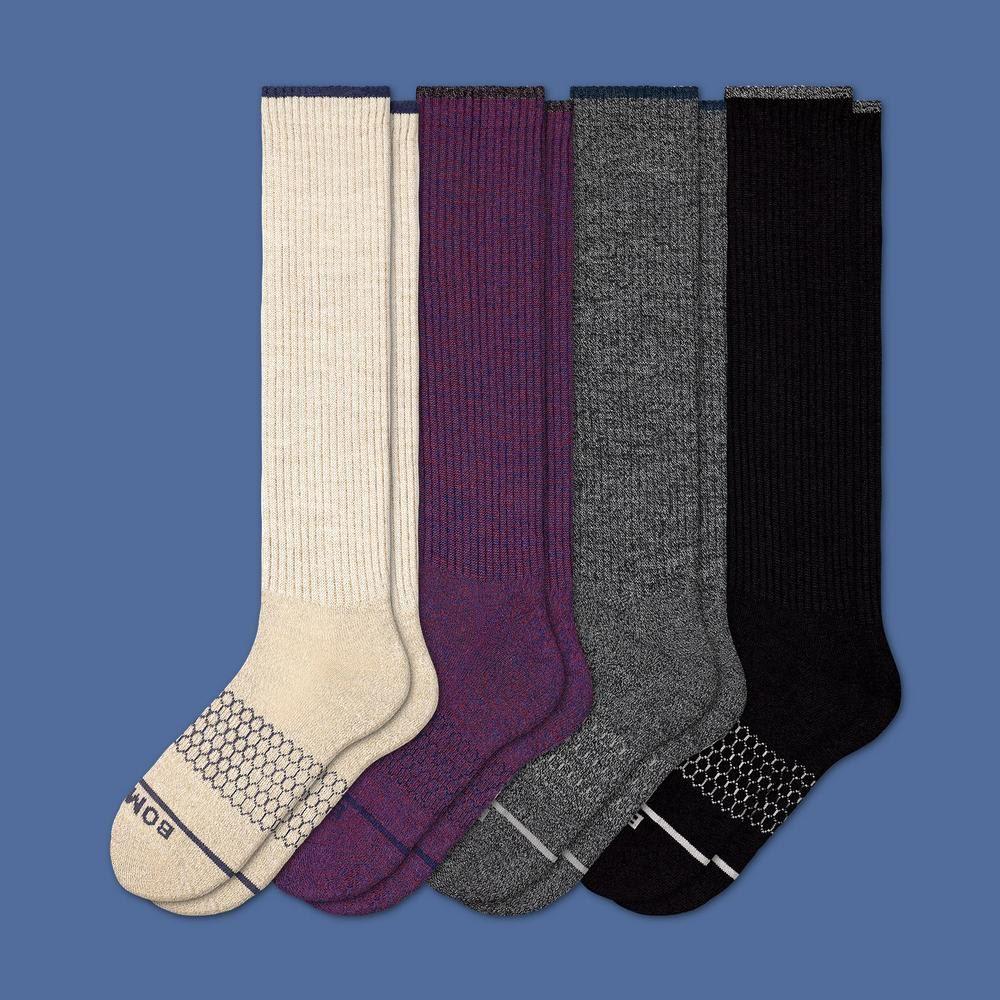 Women's Merino Wool KneeHigh Sock 4Pack Merino wool