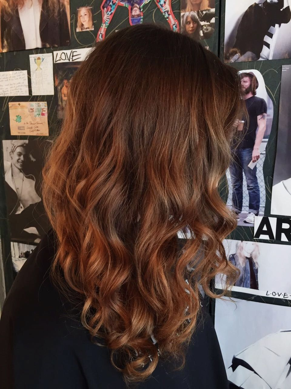 Long Brunette Curly Hair London Hairdresser For More Hairstyles And Our List Of Hair Services Visit Www Livet London Hair Salon Best Hair Salon Long Brunette