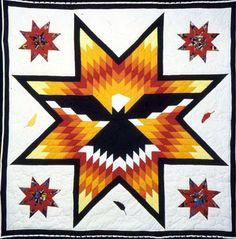 Star Quilt @ Native American Trade   Crazy Quilt   Pinterest ... : star quilts native american - Adamdwight.com