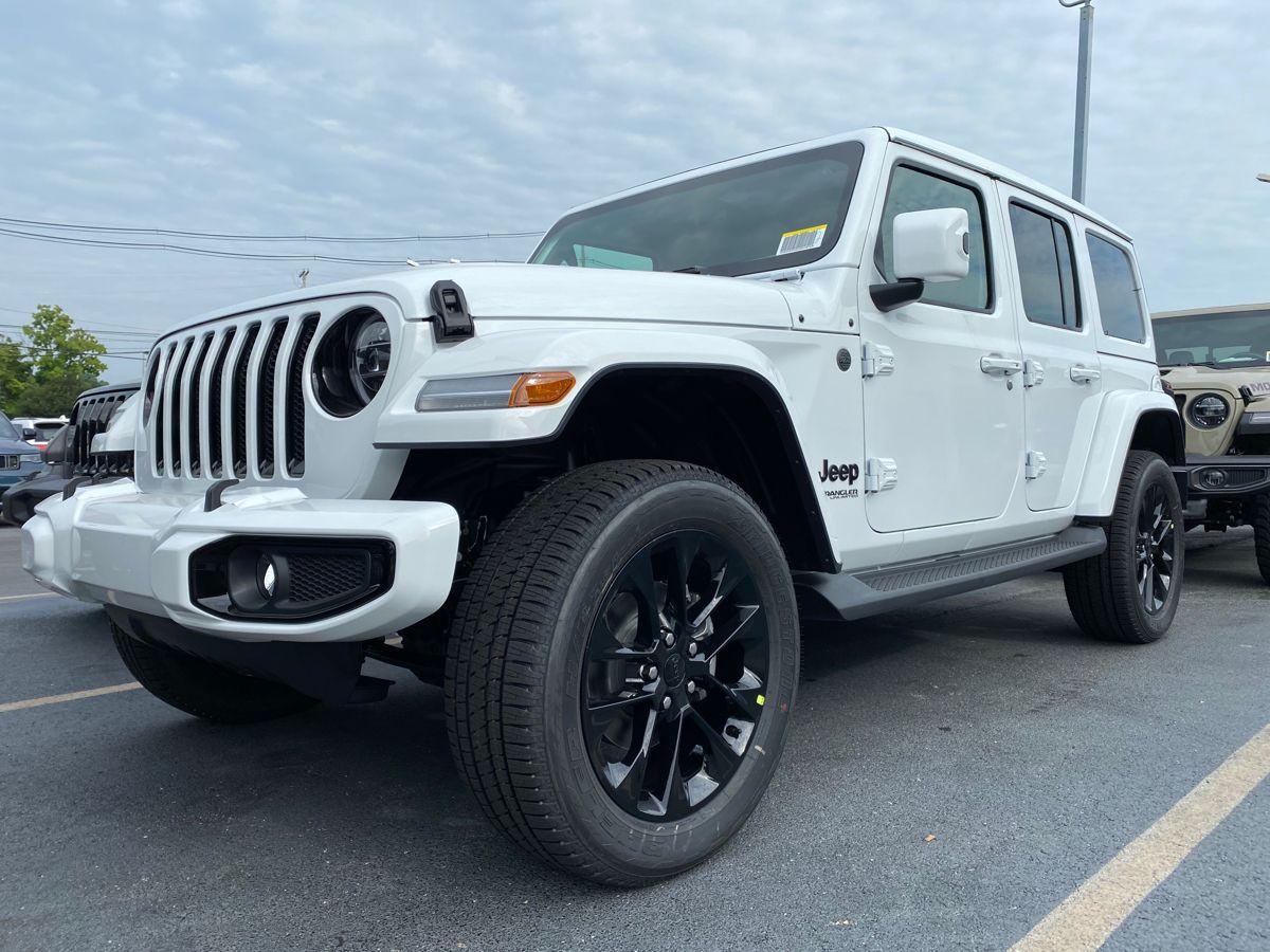 White High Altitude   Jeep sahara, Jeep wrangler sahara ...
