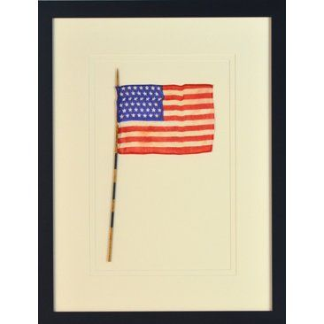 Check out this item at One Kings Lane! Framed Antique 45-Star Flag ...