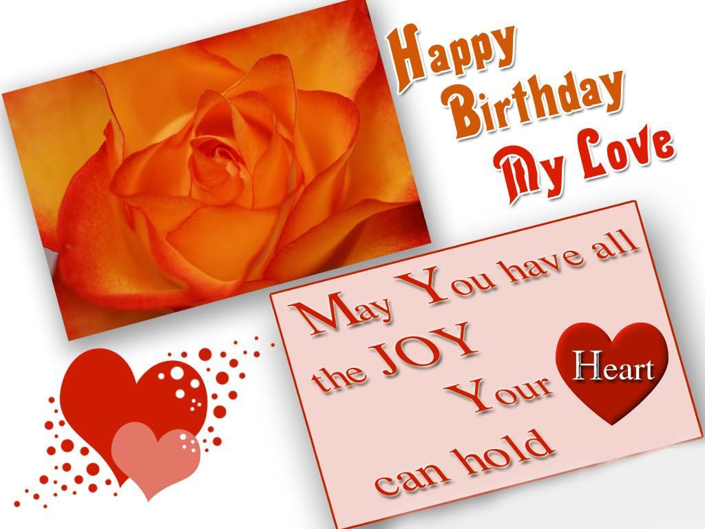 Happy birthday wallpapers for lover Happy birthday – 123 Birthday Greetings for Lover