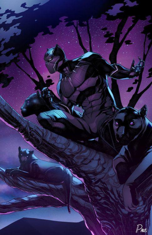 Black Panther Ancestral Plane Wallpaper : black, panther, ancestral, plane, wallpaper, Panther, ParisAlleyne, Black, Comic,, Marvel