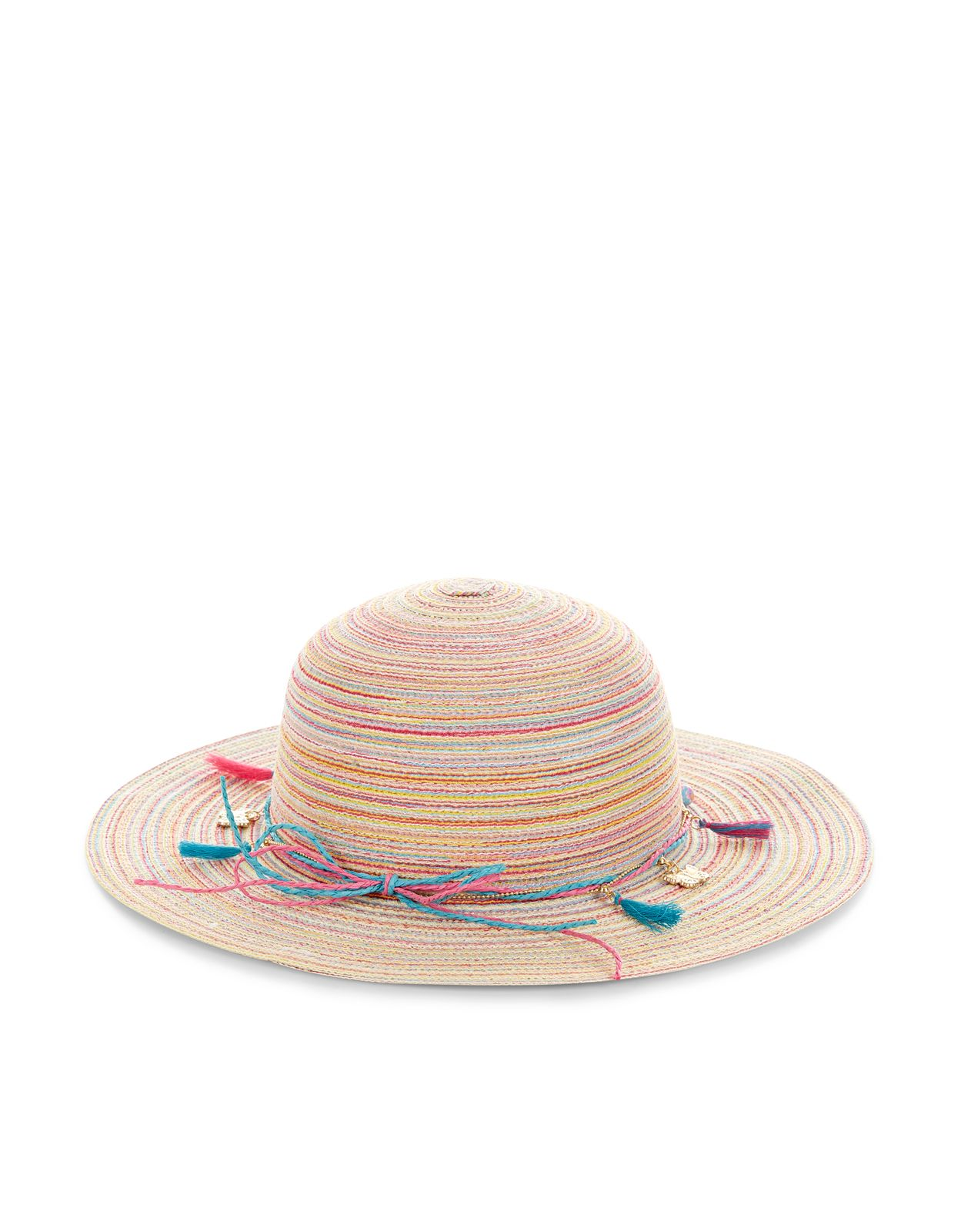 3244d3876 Multi Tassel Trim Floppy Hat | Multi | Monsoon | Lily Mae tootie ...