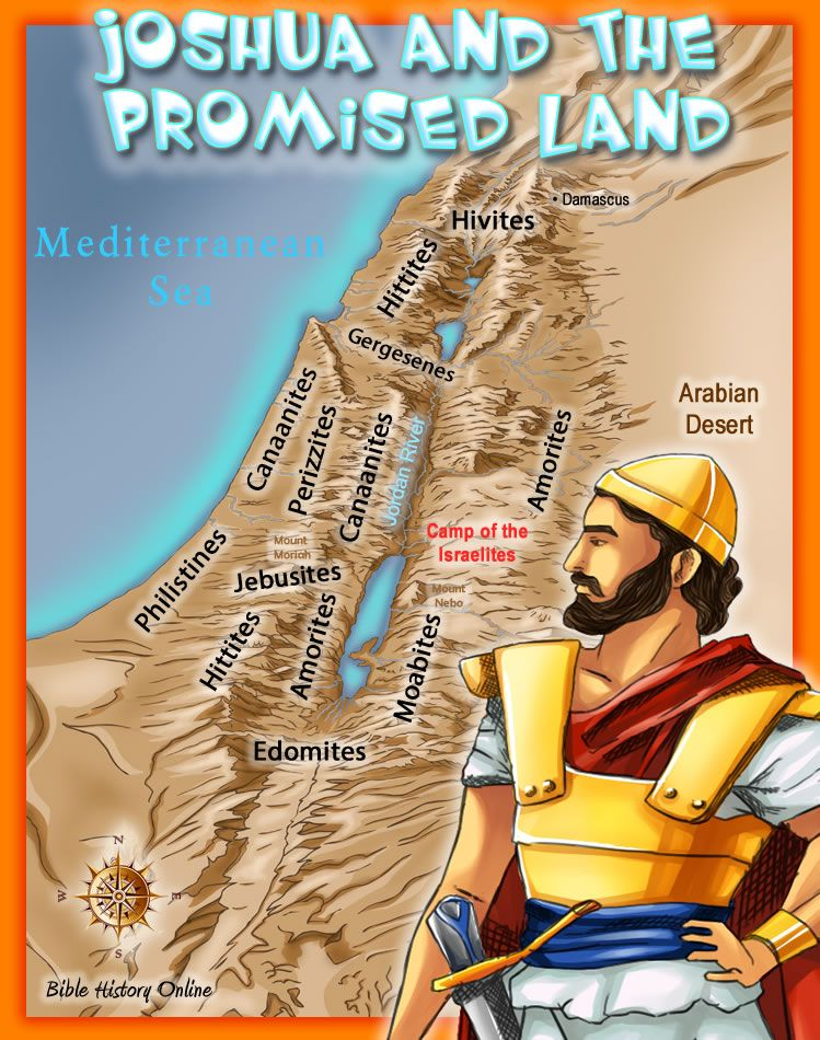 Joshua and the Promised Land  Entering and Conquering the