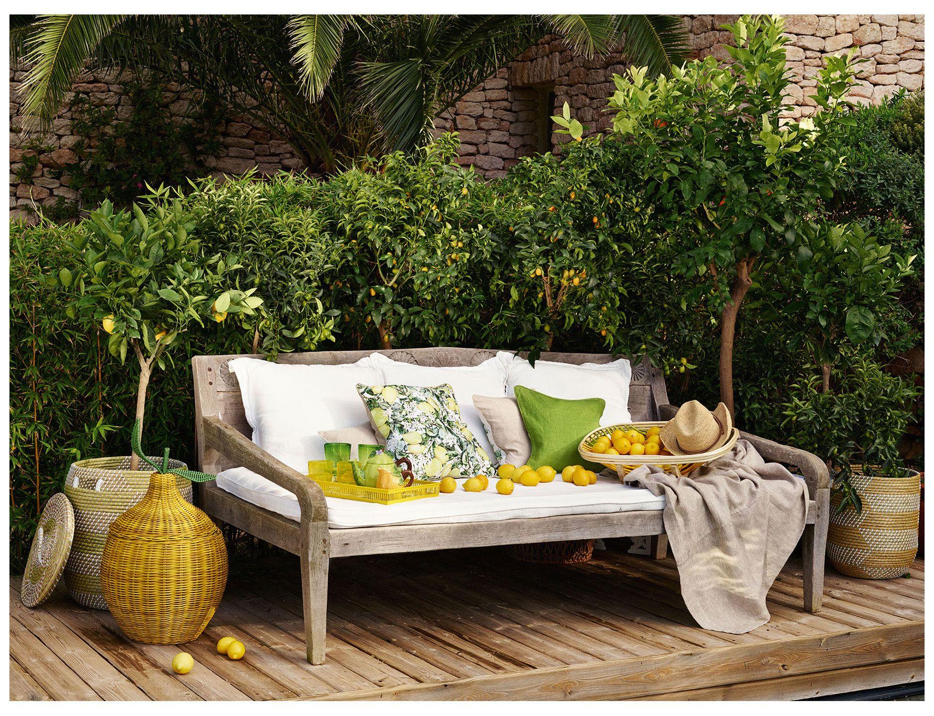 LookBook  Zara home, Outdoor furniture sets, Outdoor sectional sofa