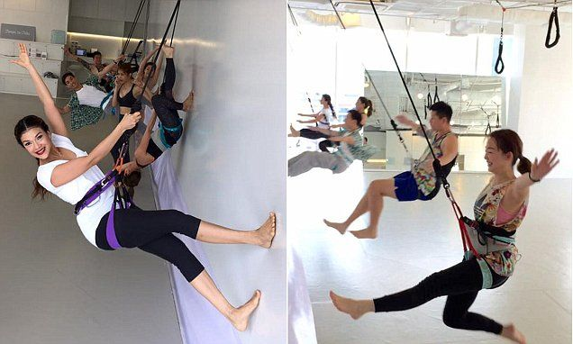 New Bungee Workout Has People Quite Literally Bouncing Off The Walls Bungee Workout Workout Workout Rooms