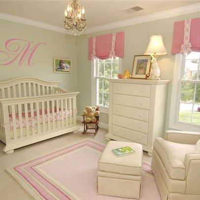 Pink And Green Nursery Design, Pictures, Remodel, Decor ...