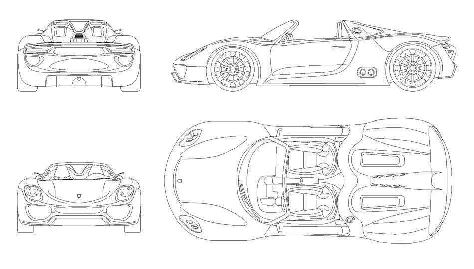 Porsche 918 Spider 2010 Smcars Net Car Blueprints Forum