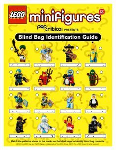 Lego Series 16 Minifigures Blind Bag Code Guide Lego Pinterest