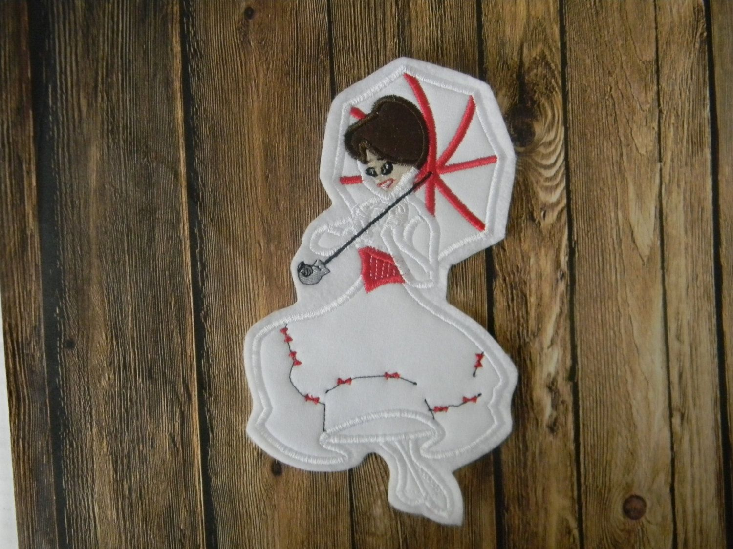 2156829a46f77 Pin by Stephanie 🎀 Knight on Mary Poppins | Iron on applique, Mary ...