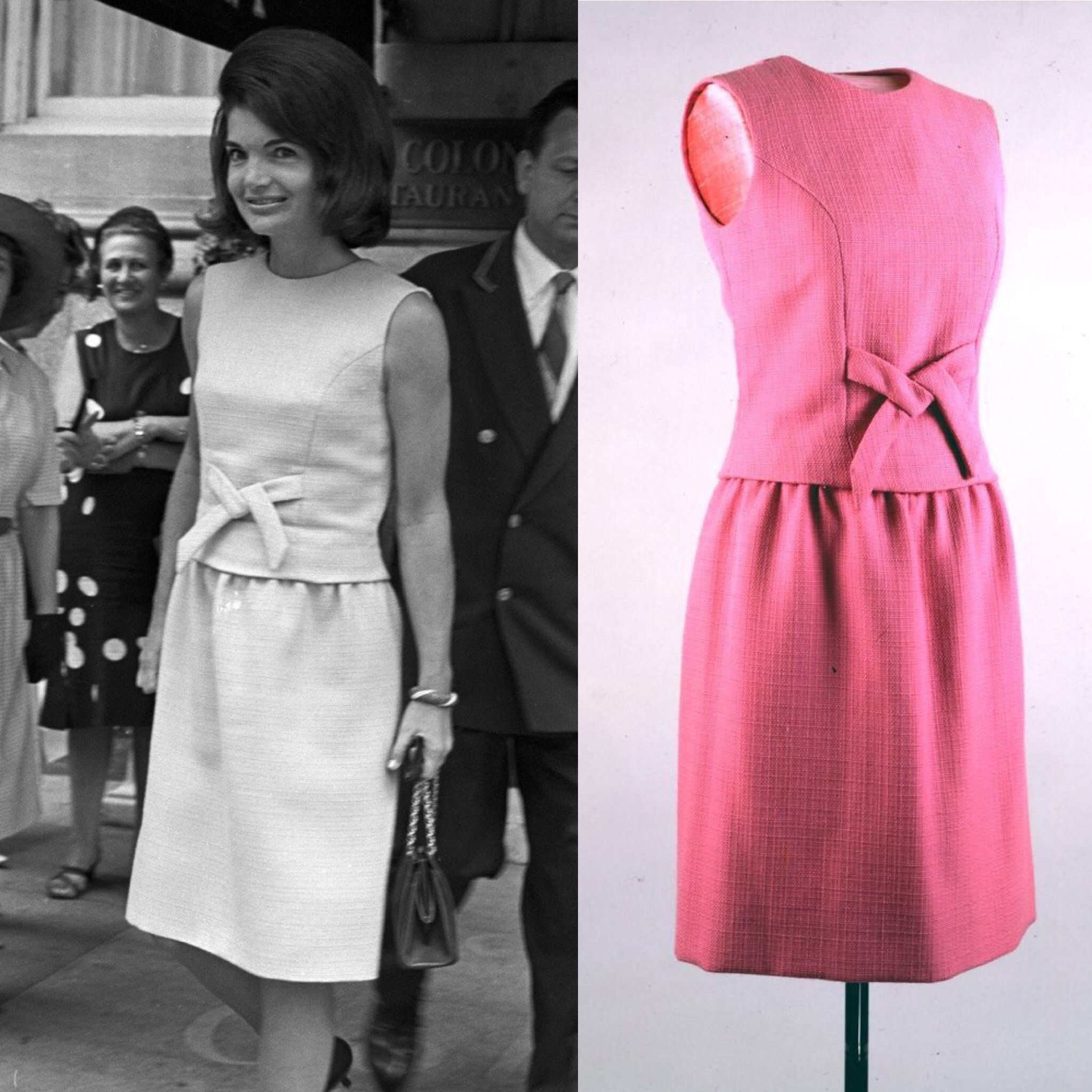 Jackie Kennedy leaves the Colony Club in New York City on June 29 ...