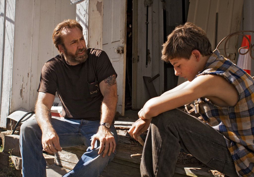 """In David Gordon Green's """"Joe,"""" Nicolas Cage stars as a steely ex-convict who tries to help a boy with an abusive home life."""