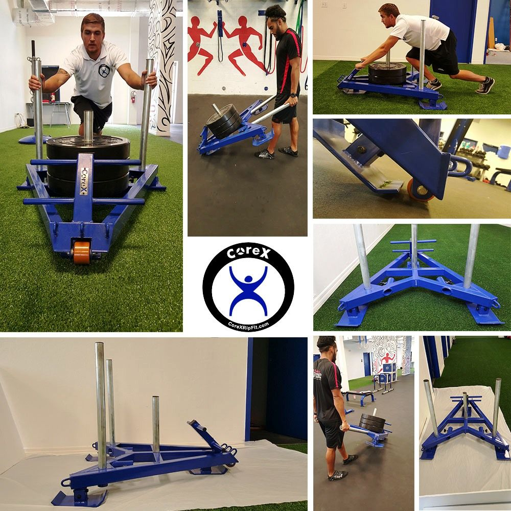 Launching The Corex Functional Fitness Gym Sled Shortly Several Revolutionary Features Integrated Small Group Training Functional Training Athletic Training