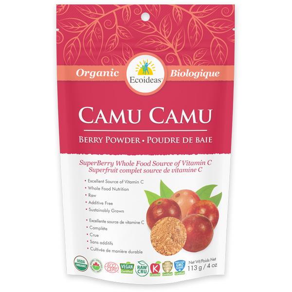 Ecoideas Organic Camu Camu Berry Powder 113g Whole